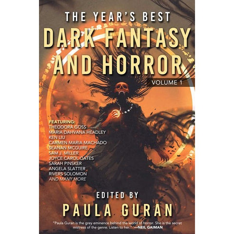 The Year's Best Dark Fantasy & Horror: Volume One [Guran, Paula ed.]