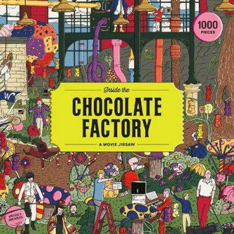 Inside the Chocolate Factory A Movie Jigsaw