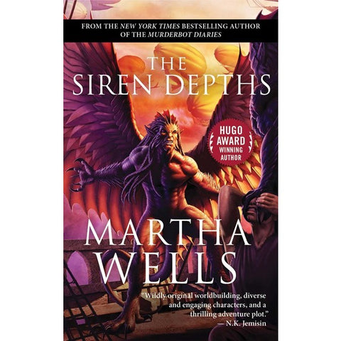 The Siren Depths (Books of the Raksura, 3) [Wells, Martha]
