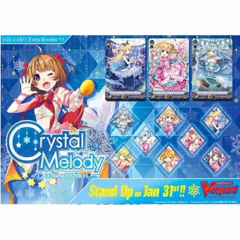 CARDFIGHT!! VANGUARD: EXTRA BOOSTER 11 - CRYSTAL MELODY
