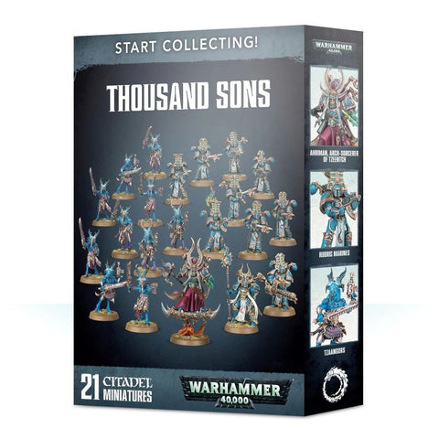 Start Collecting! Thousand Sons - 40k