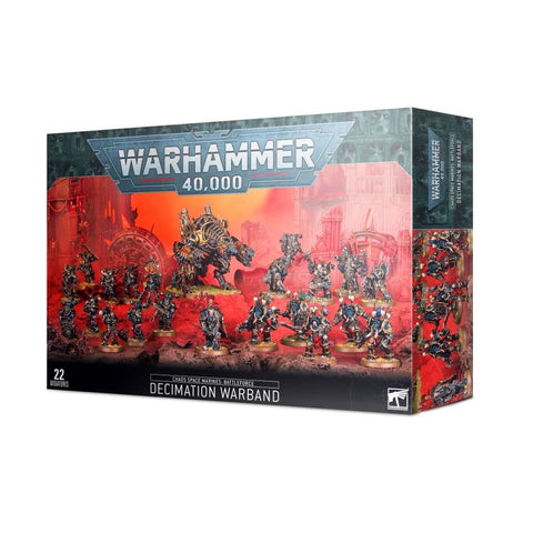 Chaos Space Marines: Battleforce – Decimation Warband