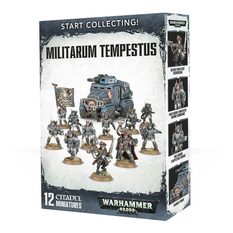 Start Collecting! Militarum Tempestus - 40k