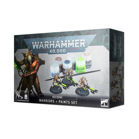 Warriors + Paints Set - 40k