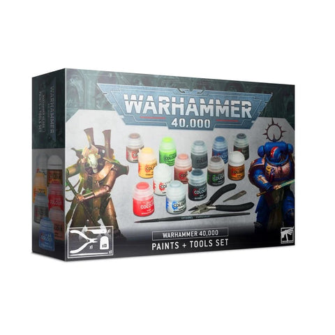 Paints + Tools Set - Warhammer 40,000