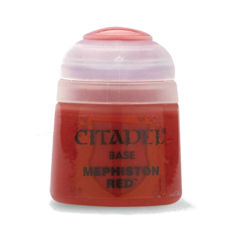 Citadel Paint: Base- Mephiston Red