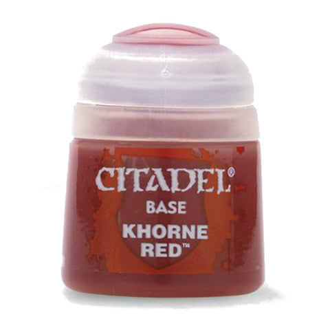 Citadel Paint: Base - Khorne Red