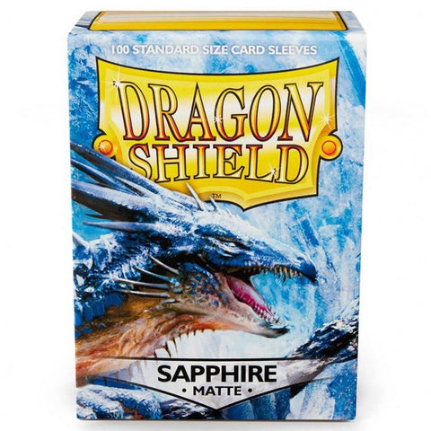 Dragon Shield Sapphire Matte Sleeves: