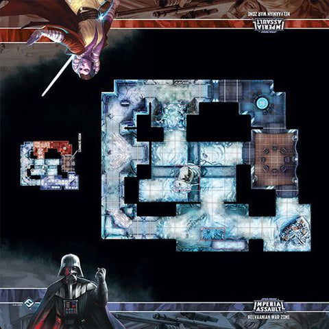 Star Wars - Imperial Assault: Nelvaanian War Zone Skirmish Map
