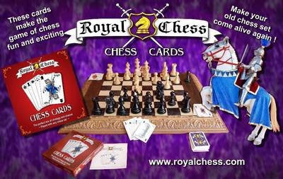 Royal Chess Chess Cards