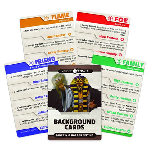 Background Cards Fantasy/Horror Setting