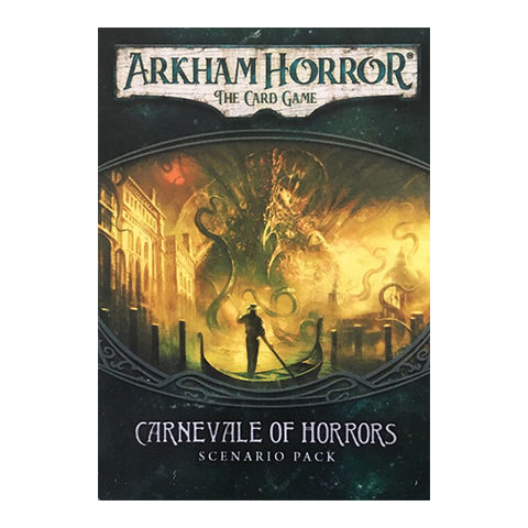 Box Art for Arkham Horror LCG Carnevale of Horrors Scenario Pack