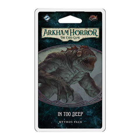 Box Art for Arkham Horror: LCG: In Too Deep Mythos Pack