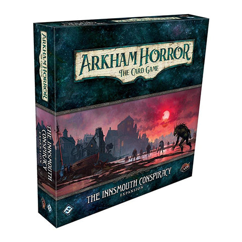 Box Art for Arkham Horror: LCG: Innsmouth Conspiracy Deluxe Exp
