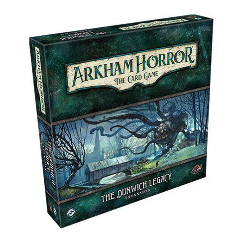 Box Art for Arkham Horror LCG The Dunwich Legacy Expansion