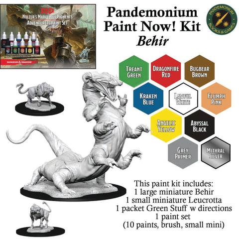 Paint Now! Miniature Painting Kit (age 14+) - Behir