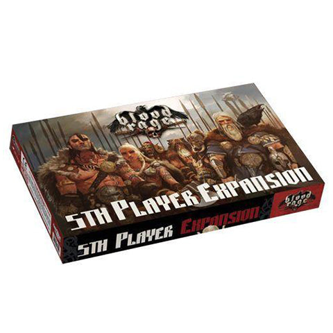 Blood Rage 5th Player Expansion New Edition