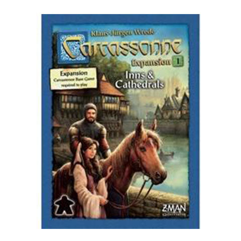 Carcassonne Expansion 1 Inns and Cathedrals New Edition