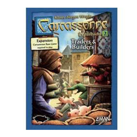 Carcassonne Expansion 2 Traders and Builders New Edition