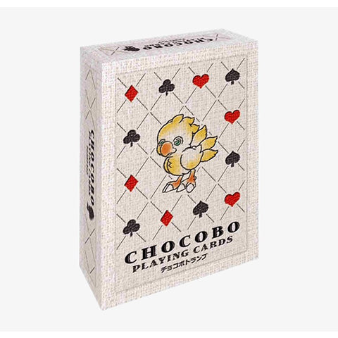 Chocobo Playing Cards