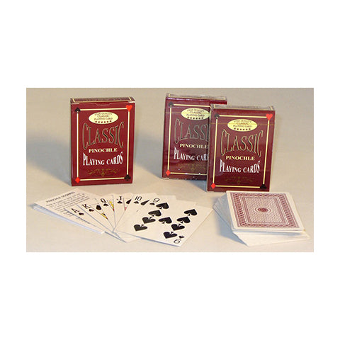 Classic Pinochle Playing Cards