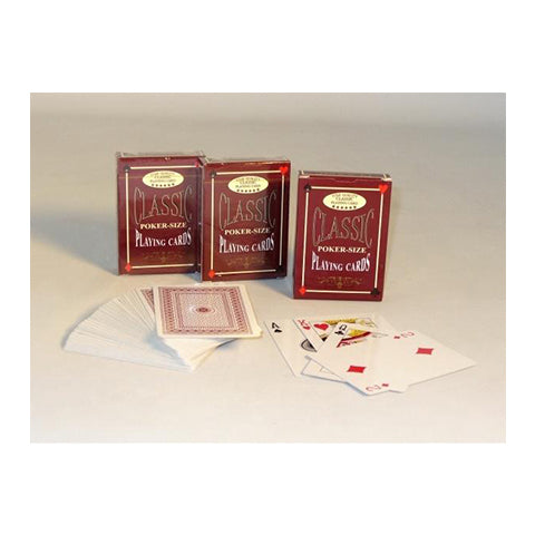 Classic Poker-Size Playing Cards