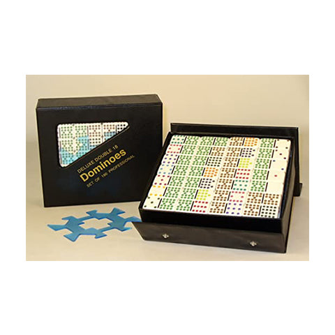 Deluxe Double 18 Dominoes 190 Professional