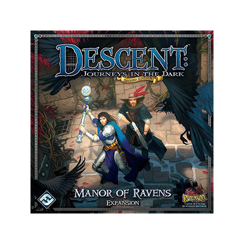 "Descent Second Edition - ""Manor Of Ravens"" Expansion"