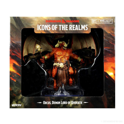 D&D: Icons of the Realm: Prem: Demon Lord Orcus, Undeath [WZK96034] (Release: Jan 15, 2021)