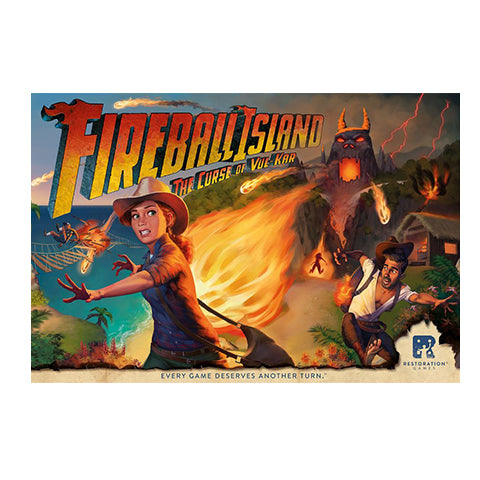 Fireball Island: The Curse of Vul Kar