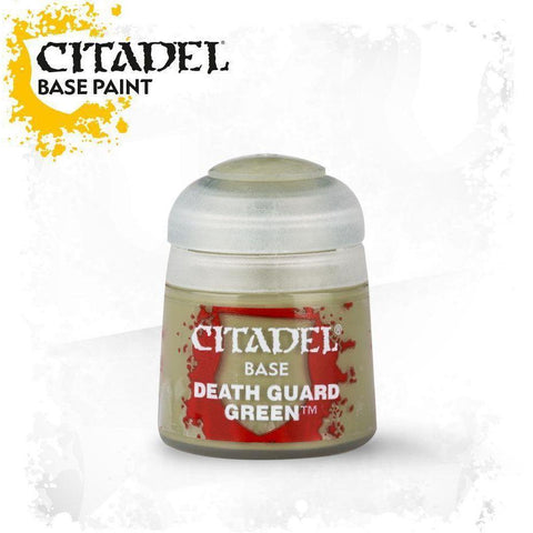 Citadel Paint: Base - Death Guard Green 12ml