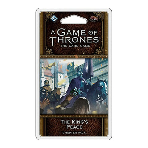 Box Art for A Game of Thrones LCG The King's Peace Chapter Pack