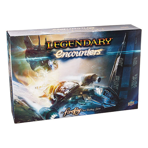 Legendary Encounters A Firefly Deckbuilding Game