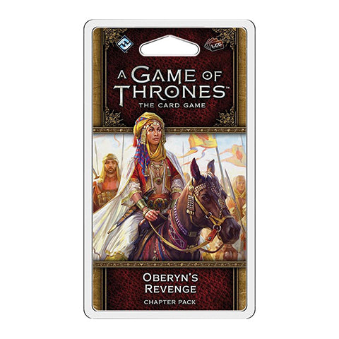 Box Art for A Game of Thrones LCG: 2nd Edition - Oberyn's Revenge Chapter Pack