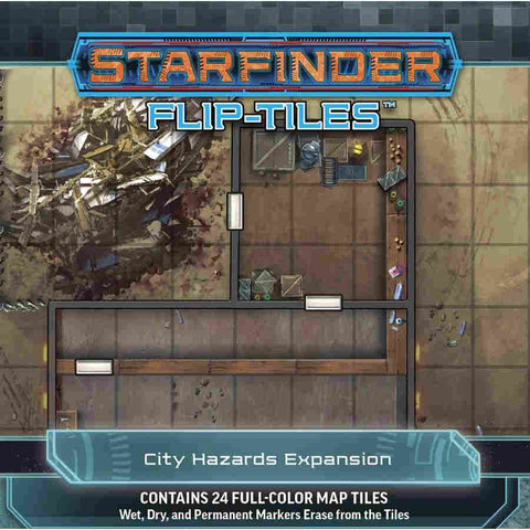 Starfinder RPG: Flip-Tiles - City Hazards Expansion