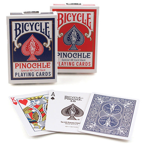Playing Cards: Pinochle Standard Index