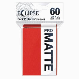 Ultra Pro Eclipse Small 60-Count Sleeves Apple Red 2.0