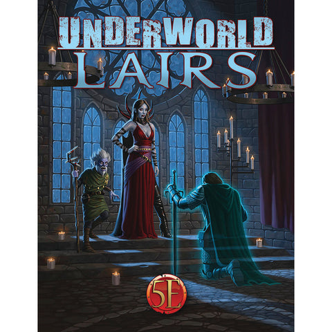 Dungeons and Dragons RPG: Underworld Lairs