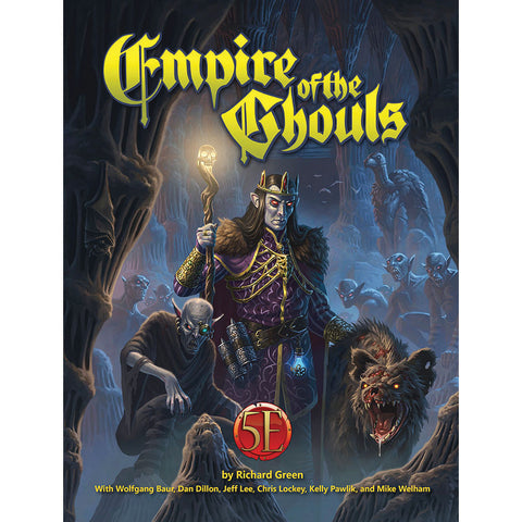 Dungeons and Dragons RPG: Empire of the Ghouls Hardcover