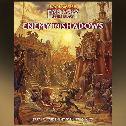 Warhammer Fantasy RPG: Enemy Within Campaign Director`s Cut - Vol. 1: Enemy in Shadows