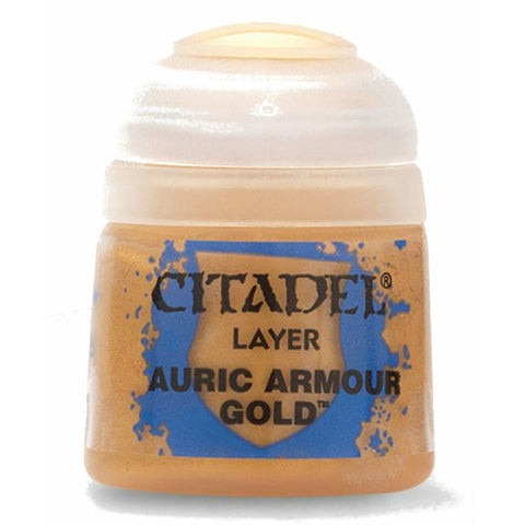Citadel Paint: Auric Armour Gold