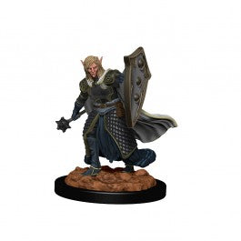 D&D Premium Figures: W2 Male Elf Cleric [WZK93008]