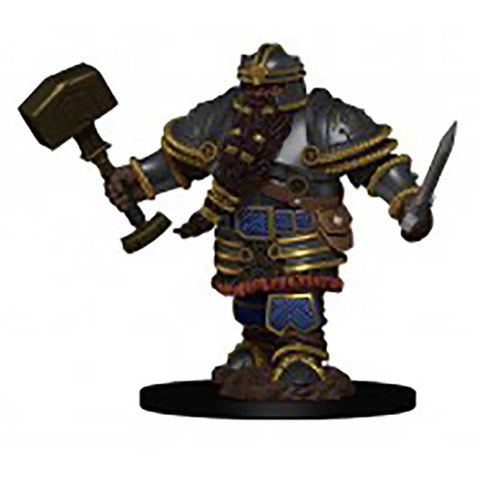 D&D Premium Figures: W2 Male Dwarf Fighter [WZK93010]