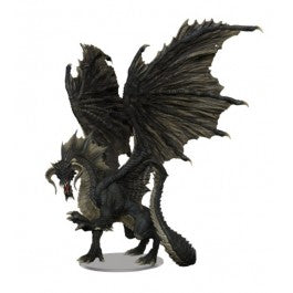 D&D Icons of the Realms Adult Black Dragon Premium Figure [WZK96021]