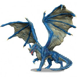 D&D Icons of the Realm Adult Blue Dragon Premium Figure [WZK96033]