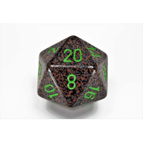 Speckled 34mm d20 Earth [CHXXS2022]