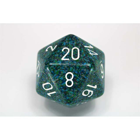 Speckled 34mm d20 Sea [CHXXS2037]