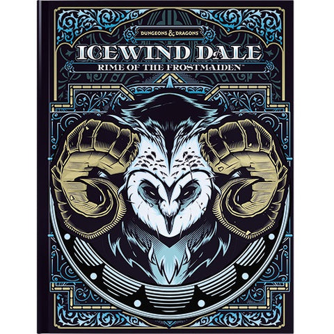 PRE-ORDER: D&D Icewind Dale - Rime of the Frostmaiden (Alt Cover)
