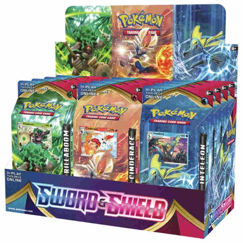 POKEMON TCG: SWORD AND SHIELD THEME DECK