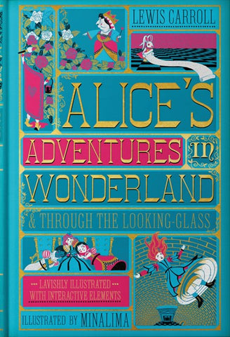 Alice's Adventures in Wonderland & Through the Looking-Glass (Hardcover) [Carroll, Lewis]